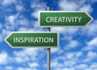 Roadside Signpost - Creativity & Inspiration