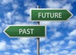 Roadside Signpost - Future & Past