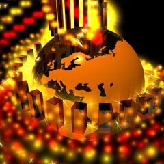 eurasia energy globe - europa-asia