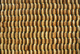 texture of rattan weave poster