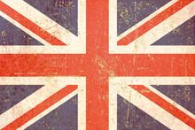 Pokazano wersję brytyjskiej flagi