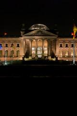 Reichstag Berlin am Abend