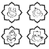 Lord Ganesha Signs poster