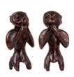 African folk art wooden carving