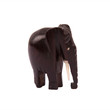 African folk art wooden carving elephant