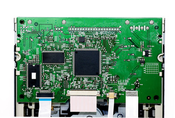 Circuit board of CD-ROM drive