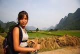 Fototapety Turist in China