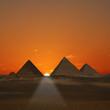Pyramids Sunrise (Giza, Egypt)