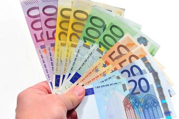 Geldscheine-Fächer
