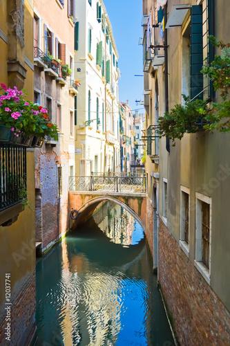 Quiet Venetian Canal - 12037741