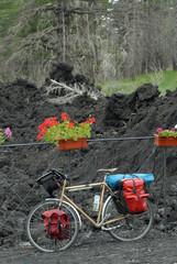 bicicletta sull'Etna