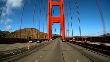 Driving The Golden Gate Bridge