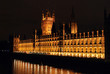 westminster palace by night