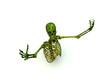 Skeleton In A Pose 2