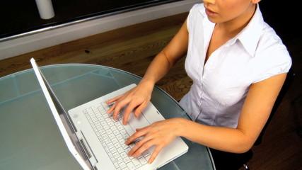 Businesswoman & Technology