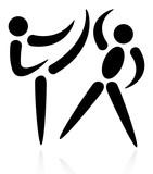 Real aikido martial arts poster