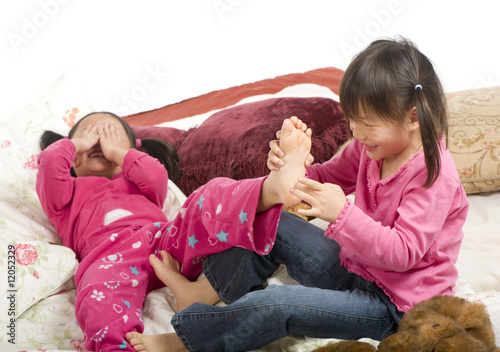 "Tickling feet"" Stock photo and royalty-free images on Fotolia.com"