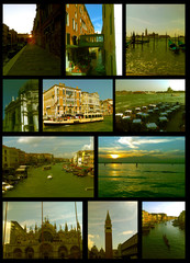 Collection of photographs taken in Venice