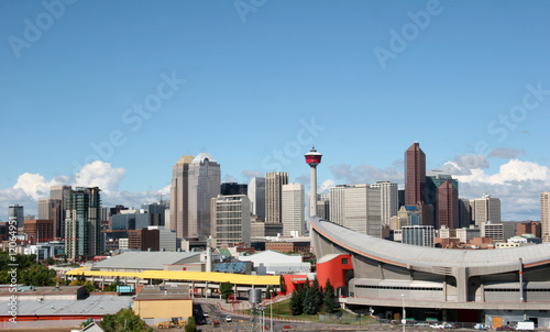 Calgary downtown skyline