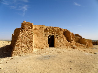 Fortess in desert