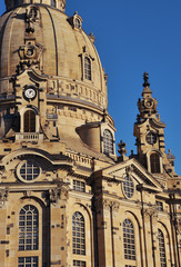 Dresden - Frauenkirche in detail