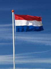 Fluttering dutch flag
