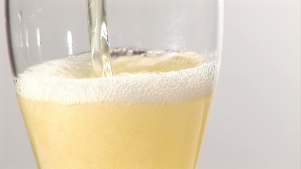 Stock Footage- Pouring Beer