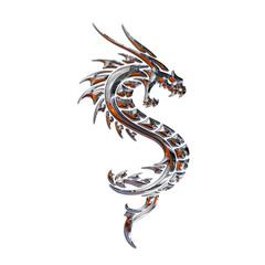 Ilustracion de un Dragon Mitico