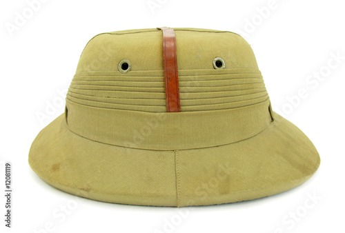 Pith helmet Safari hat