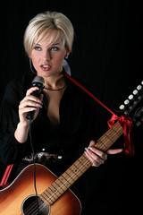 blonde singer