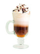 irish coffee  isolated