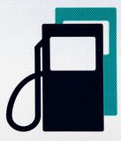 Fuel pictogram poster