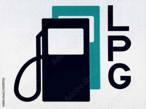 Fuel pictogram