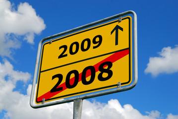 Jahreswechsel 2008-2009