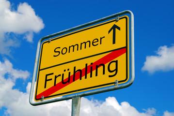 Jahreszeitwechsel - Frühling - Sommeranfang