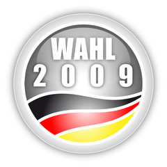 Bundestagswahl Button