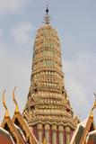 chedi du palais royal de bangkok poster