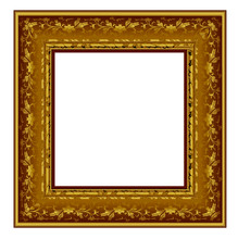 Ornate gold gilt gallery frame
