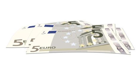 5 euros sueltos