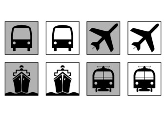 Transportation informative symbols