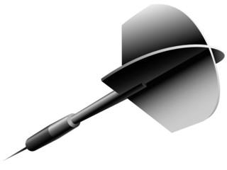 A silver dart (javelin)