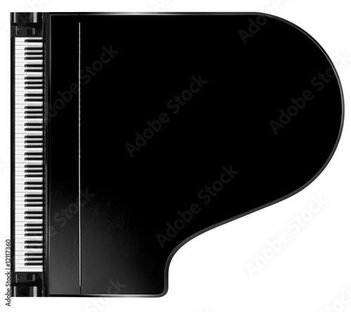 Leinwandbild Motiv piano from above