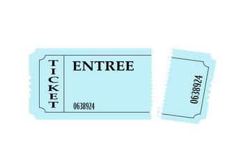 Ticket entrée
