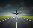 aeroplane on a cloudy day