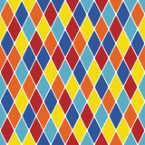 Harlequin particoloured seamless pattern 3.10 poster