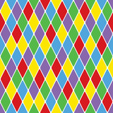 Harlequin particoloured seamless pattern 3.8 poster