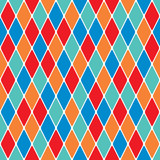 Harlequin particoloured seamless pattern 3.6 poster