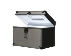 Box wblue light