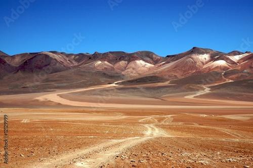 Hochlandwüste in Bolivien