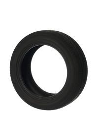 black car tyre